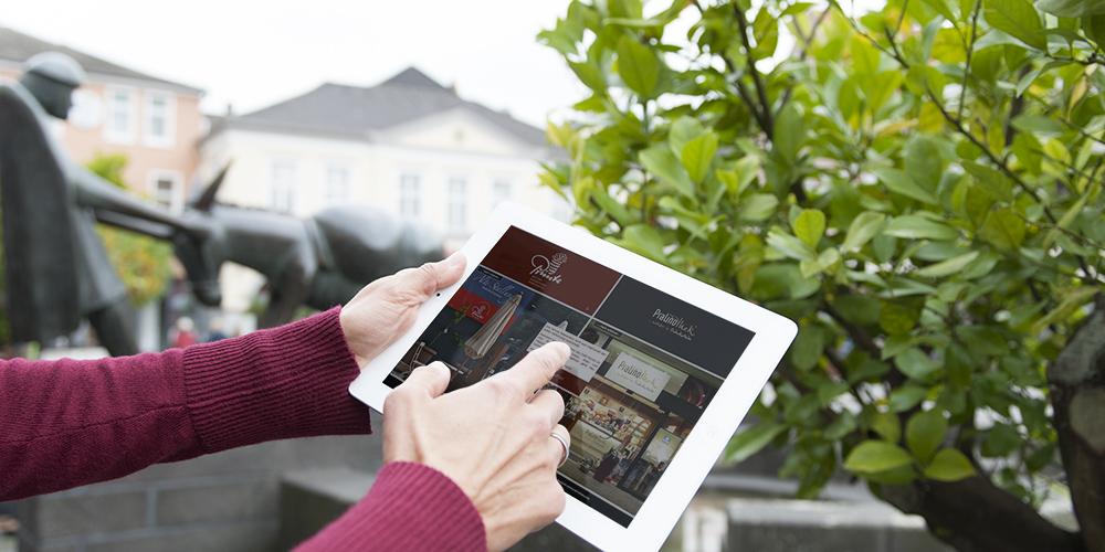 mobil unterwegs - mit unseren Webseiten