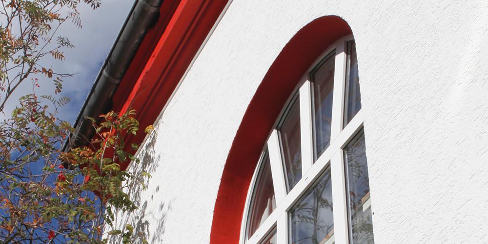 Fenster in unserem Gebäude